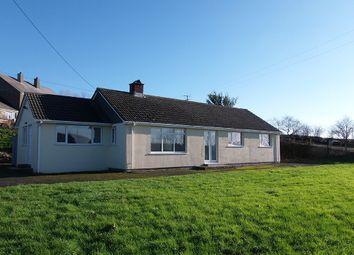 Thumbnail 4 bed detached bungalow to rent in Dunterton, Milton Abbot