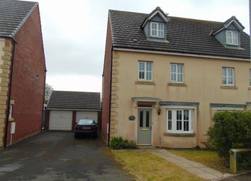 Thumbnail 4 bed semi-detached house for sale in Ger Yr Ysgol, Burry Port
