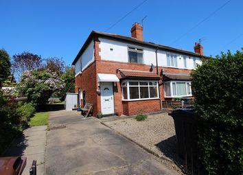 Thumbnail 2 bedroom semi-detached house for sale in Henconner Crescent, Chapel Allerton, Leeds