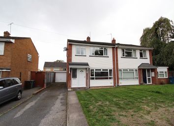 Thumbnail 3 bed semi-detached house for sale in Craftdown Close, Stafford