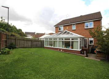 Thumbnail 4 bed detached house for sale in Longborough Court, Newcastle Upon Tyne
