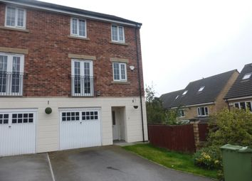 Thumbnail 3 bed town house to rent in Swaithe View, Woolley Grange, Barnsley