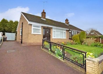 Thumbnail 2 bedroom semi-detached bungalow for sale in Woodgate Avenue, Church Lawton, Stoke-On-Trent
