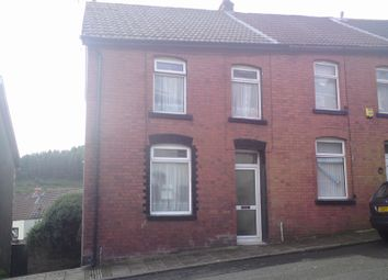 Thumbnail 2 bed end terrace house for sale in Thomas Street, Clydach Vale, Rhondda Cynon Taff.