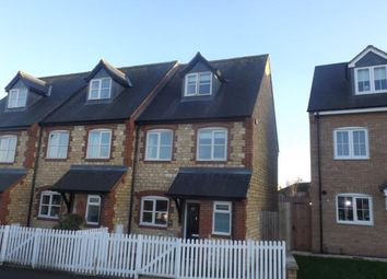 Thumbnail 3 bed end terrace house for sale in Easton Lane, Bozeat, Wellingborough