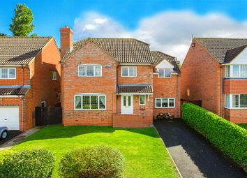 Thumbnail 4 bed detached house for sale in Ostlers Way, Kettering
