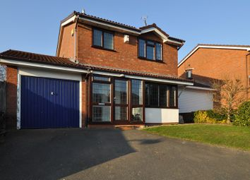 Thumbnail 3 bed detached house for sale in Jordans Close, Crabbs Cross, Redditch