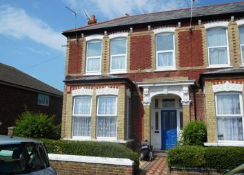 Thumbnail 2 bed flat to rent in Northdown Avenue, Margate