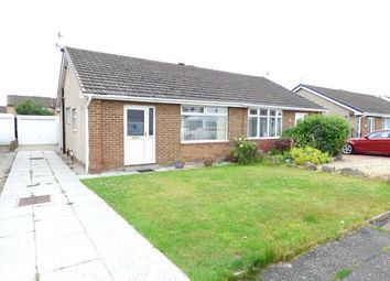 Thumbnail 2 bed semi-detached bungalow for sale in Wentworth Crescent, Westgate, Morecambe