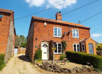 Thumbnail 2 bed semi-detached house for sale in Bintree, Dereham, Norfolk