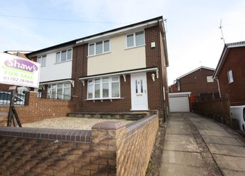 Thumbnail 3 bed semi-detached house to rent in Whiteridge Road, Kidsgrove, Stoke-On-Trent