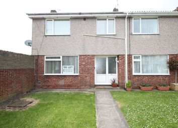 Thumbnail 3 bed terraced house for sale in Norham Close, Blyth