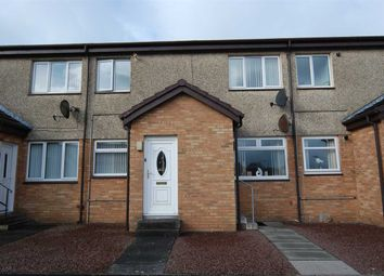 Thumbnail 2 bed flat for sale in Caledonia Crescent, Ardrossan