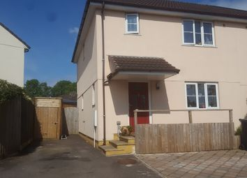Thumbnail 3 bedroom semi-detached house for sale in Powells Way, Dunkeswell, Honiton