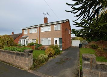Thumbnail 3 bed semi-detached house for sale in Hawthornden Gardens, Uttoxeter