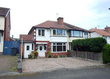 Thumbnail 4 bedroom semi-detached house for sale in Cofton Road, West Heath, Birmingham
