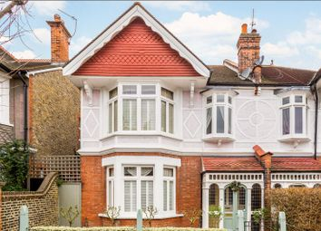 Thumbnail 4 bed semi-detached house for sale in Luttrell Avenue, London