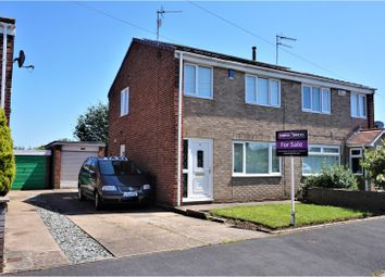 Thumbnail 3 bed semi-detached house for sale in Lagoon Drive, Sutton On Hull, Hull