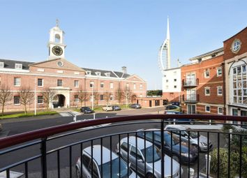 Thumbnail 1 bedroom flat to rent in Jupiter Court, Gunwharf Quays, Portsmouth