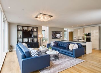 Thumbnail 3 bed flat for sale in Brentford Lock West, Durham Wharf Drive, Brentford
