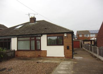 Thumbnail 2 bed semi-detached bungalow to rent in Wolsey Croft, Sherburn In Elmet, Leeds