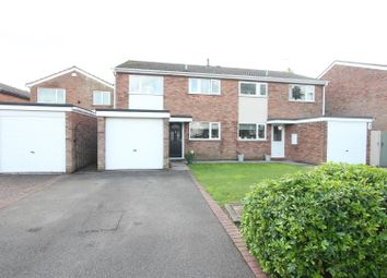 Thumbnail 3 bed semi-detached house for sale in Oxford Road, Desford, Leicester