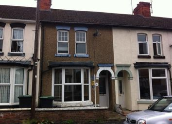 Thumbnail 3 bed terraced house to rent in Spencer Road, Rushden