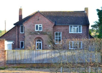 Thumbnail 4 bed detached house for sale in Newtown Common, Newbury