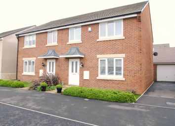Thumbnail 4 bed semi-detached house for sale in Wendercliff Close, Bishops Cleeve