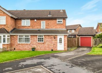 Thumbnail 3 bedroom semi-detached house for sale in Caldeford Avenue, Shirley, Solihull, West Midlands