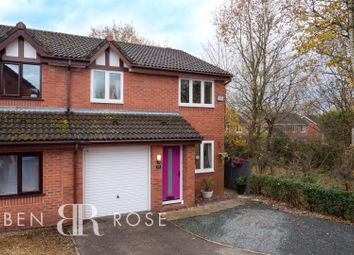 Thumbnail 3 bed semi-detached house for sale in Fir Tree Close, Chorley
