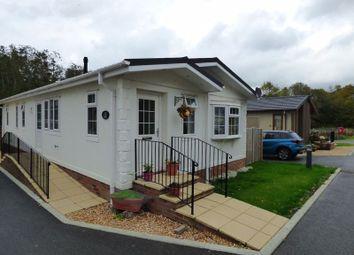 Thumbnail 2 bed mobile/park home for sale in Second Avenue, Ravenswing Park, Aldermaston, Reading