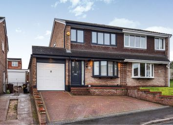 Thumbnail 3 bed semi-detached house for sale in Chancery Drive, Cannock