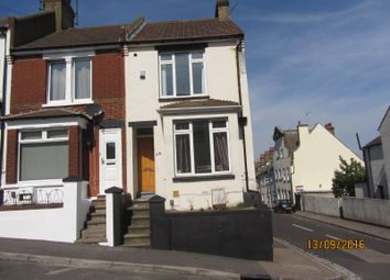 Thumbnail 4 bed end terrace house to rent in Cecil Road, Rochester, Kent