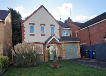 Thumbnail 4 bedroom detached house for sale in Woodlands, Northampton