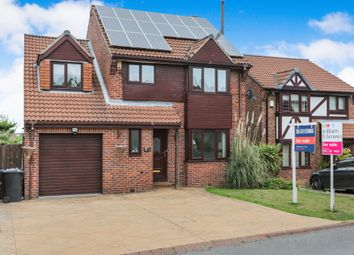 Thumbnail 4 bedroom detached house for sale in Bishopdale Court, Ridgeway, Sheffield