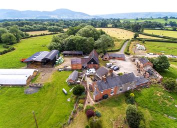 Thumbnail 5 bed farmhouse for sale in Pool Quay, Welshpool