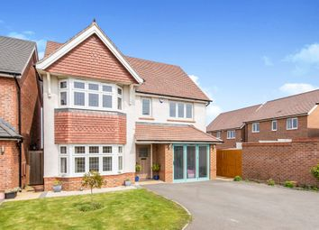 Thumbnail 4 bed detached house for sale in Laverton Road, Hamilton, Leicester