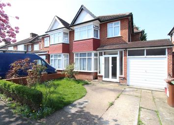 Thumbnail 3 bed semi-detached house to rent in Braithwaite Gardens, Stanmore