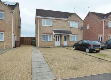 Thumbnail 2 bedroom semi-detached house to rent in Myles Way, Wisbech