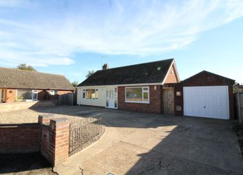 Thumbnail 3 bed detached bungalow for sale in School Close, Rollesby, Great Yarmouth
