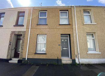 Thumbnail 3 bed terraced house for sale in Pemberton Street, Llanelli