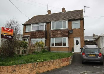 Thumbnail 3 bed semi-detached house to rent in Shute Park Road, Plymstock