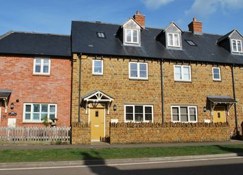 Thumbnail 3 bed terraced house for sale in Main Road, Banbury, Northamptonshire