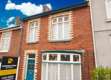 Thumbnail 3 bedroom terraced house for sale in Clinton Avenue, Plymouth