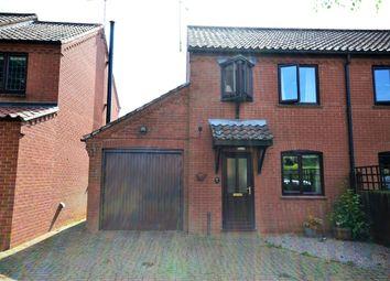 Thumbnail 2 bedroom semi-detached house to rent in Glosthorpe Manor, Ashwicken, King's Lynn