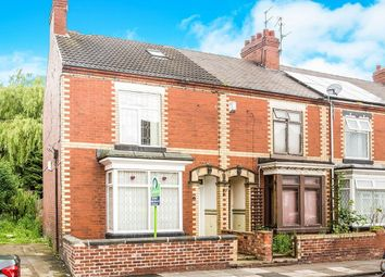 Thumbnail 2 bed end terrace house for sale in Highfield Road, Askern, Doncaster, South Yorkshire