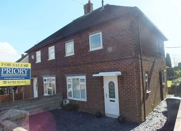 Thumbnail 2 bedroom semi-detached house for sale in Withington Road, Fegg Hayes, Stoke-On-Trent