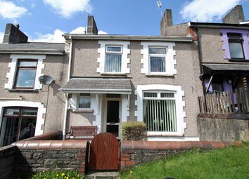 Thumbnail 3 bed terraced house for sale in Tredegar Terrace, Aberbargoed, Bargoed