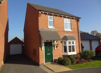 Thumbnail 3 bed detached house for sale in Murrayfield Avenue, Greylees, Sleaford